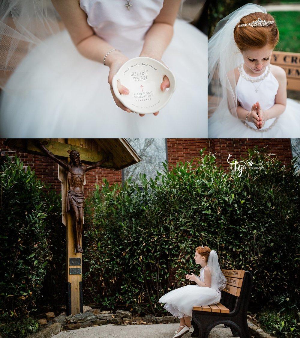 Fine art communion photographer