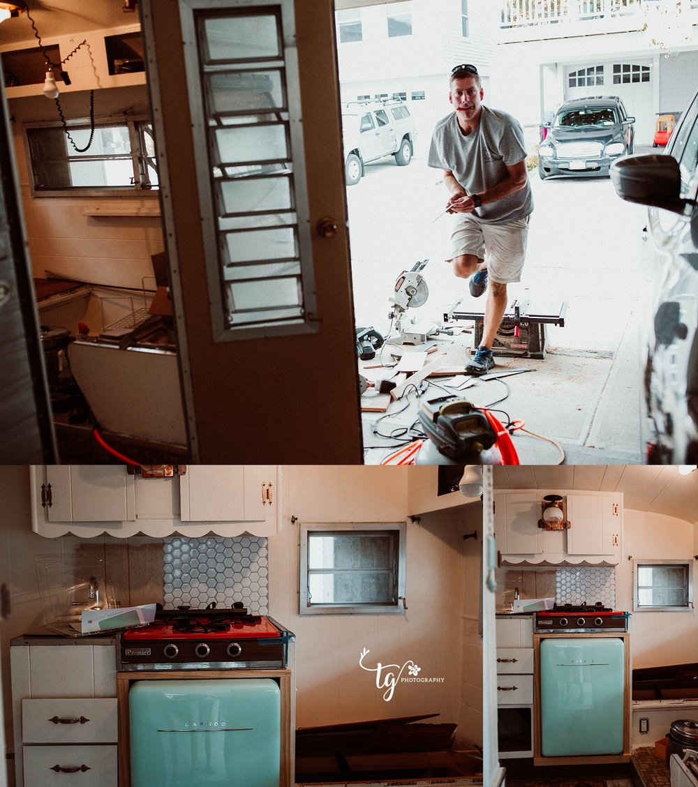 RENOVATIONS TO A 1969 PLAYMOR CAMPER