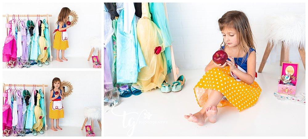 photographer for princess dress up photos