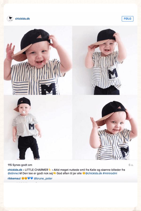 ChicKids.dk er en af de danske webshops, der forstår at skabe relevante annoncer på Instagram