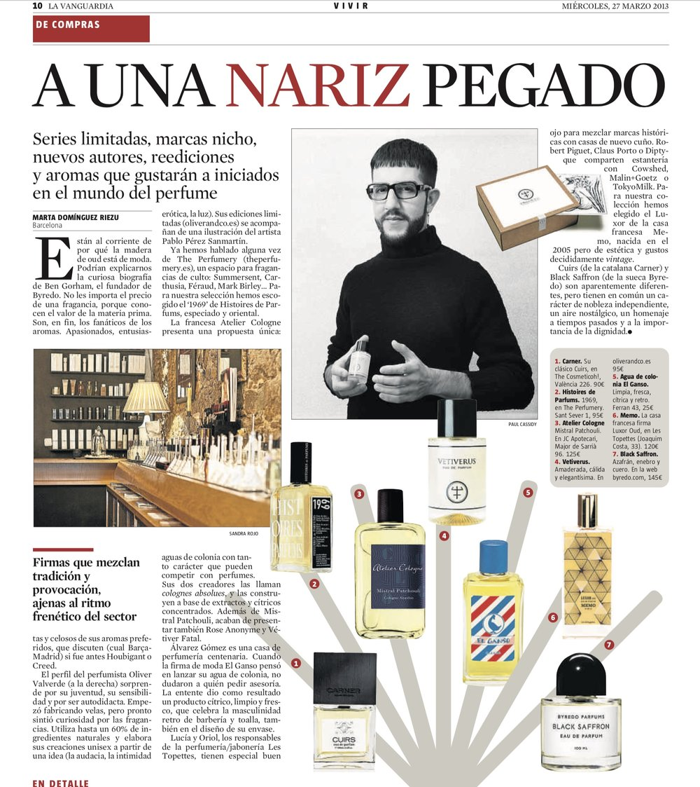 2013-03-27 La Vanguardia ES- The Perfumery.jpeg