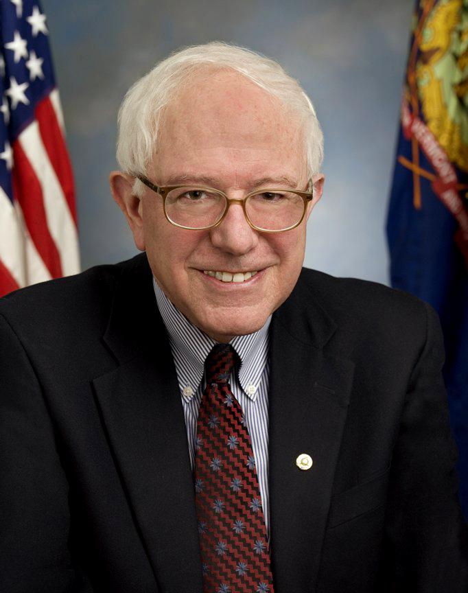 """Bernie Sanders nennt sich selbst """"demokratischer Sozialist"""" und ist der einzige strikte Gegner der Todesstrafe im Wahlkampf."""