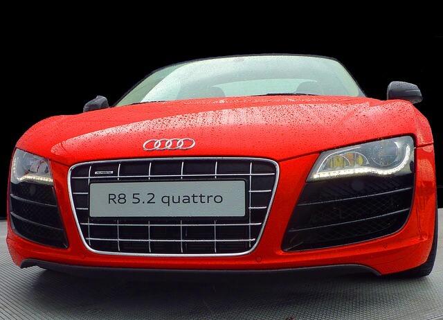Der Audi R8 ist ein in der Raser-Szene beliebtes Fahrzeug.