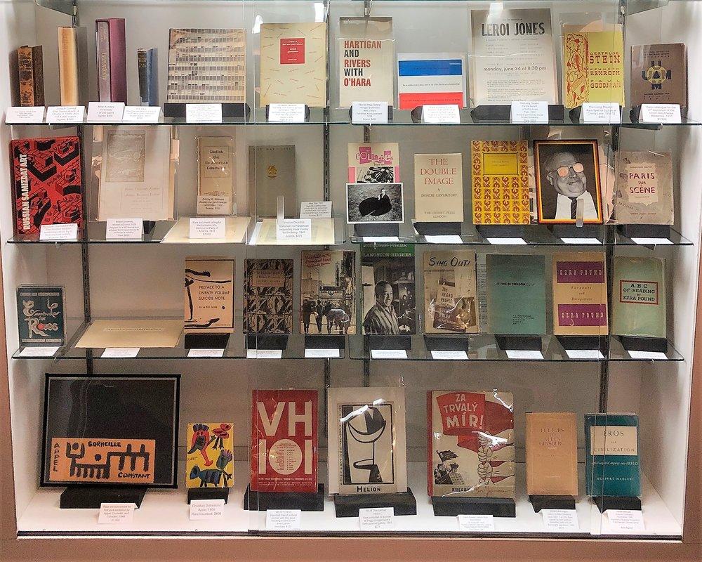 showCase of Le Bookiniste photo courtesy of John Leger - Le bookiniste