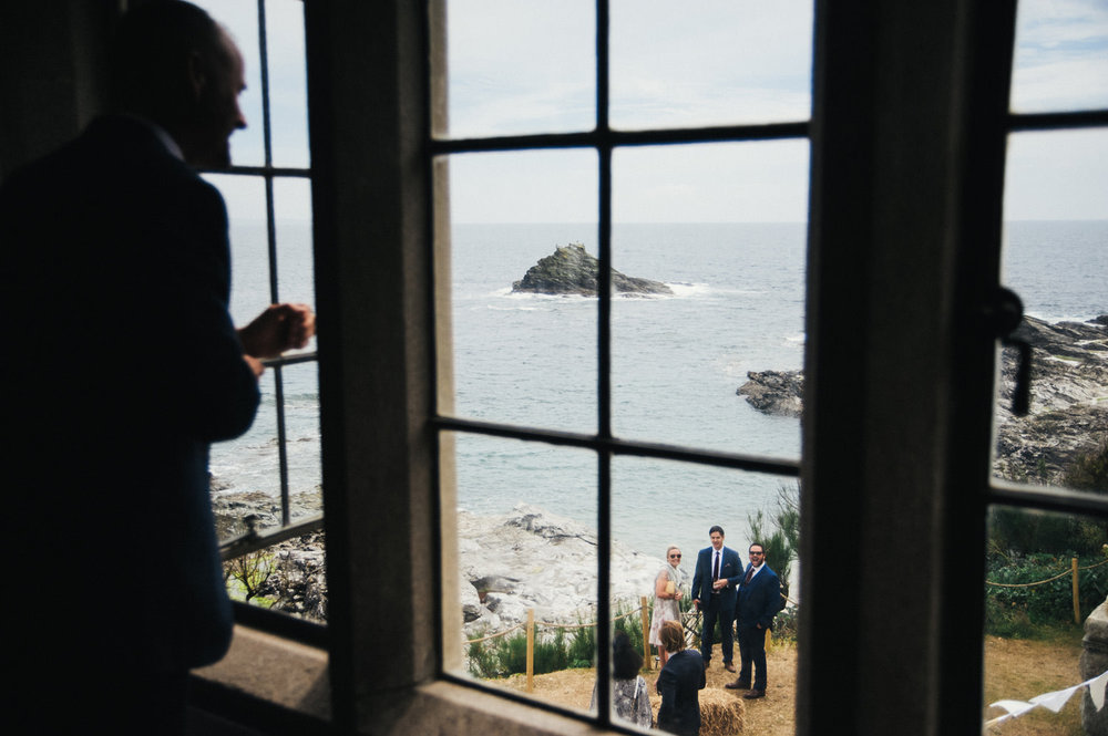 Perks of being a wedding photographer in beautiful Cornwall - never get tired of the scenery whether on the coast or in the country.