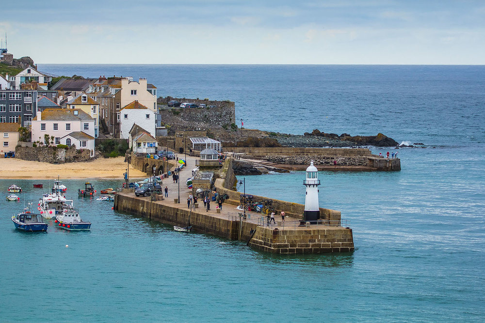 take a trip to st. ives