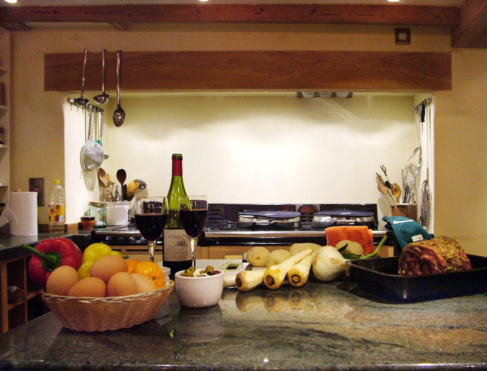 YOUR homecooked meals are FRESHLY PREPARED BY OUR STAFF IN THE STYLISH KITCHEN
