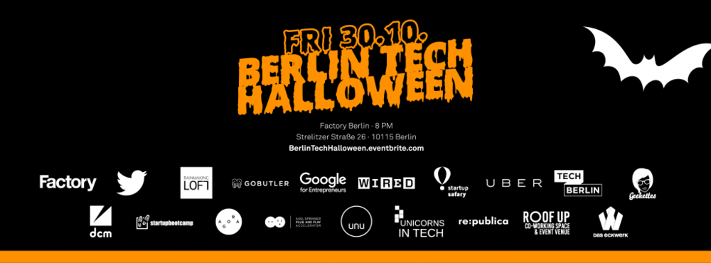 BerlinTechHalloween - Facebook Header