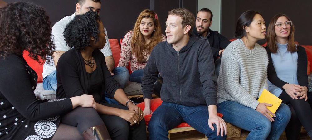 ReDI School of Digital Integration Mark Zuckerberg