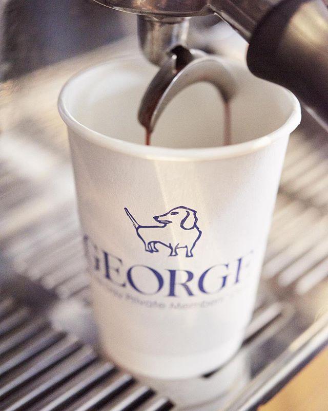 Mornings were made for coffee at #georgemayfair . . . . #georgemayfair #mountstreet #mayfair #morningcoffee #birleyclubs #lifeonmountstreet