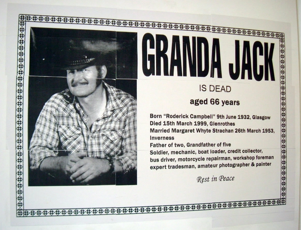 Untitled (Granda Jack is Dead)