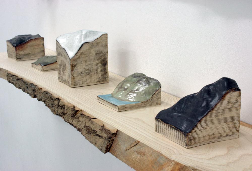 Various ceramic works