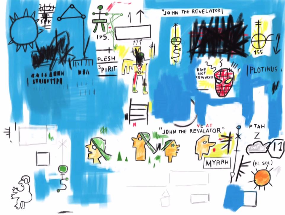This is How I Copy Basquiat. How Do You Copy Basquiat? (still)