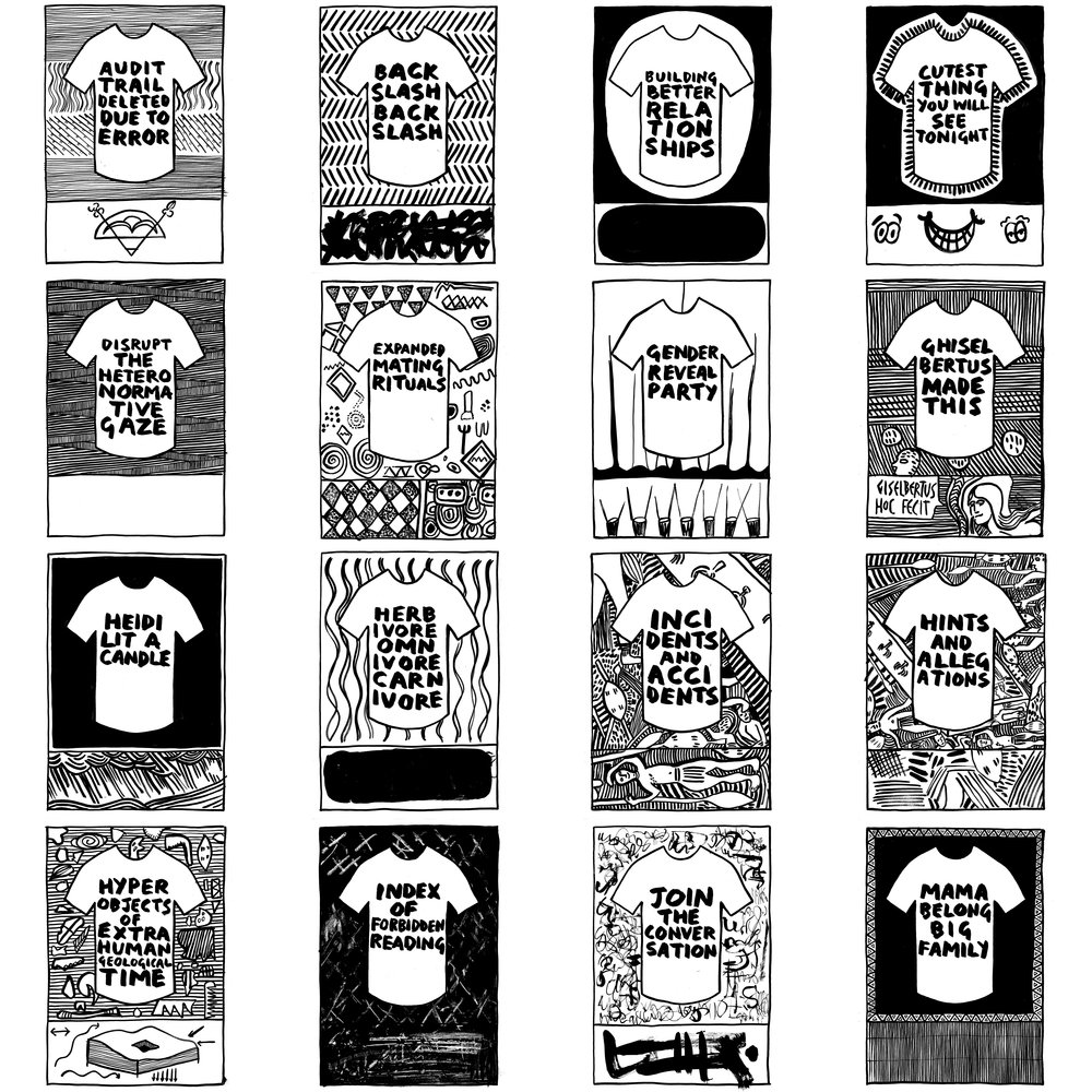 T-shirt Drawings