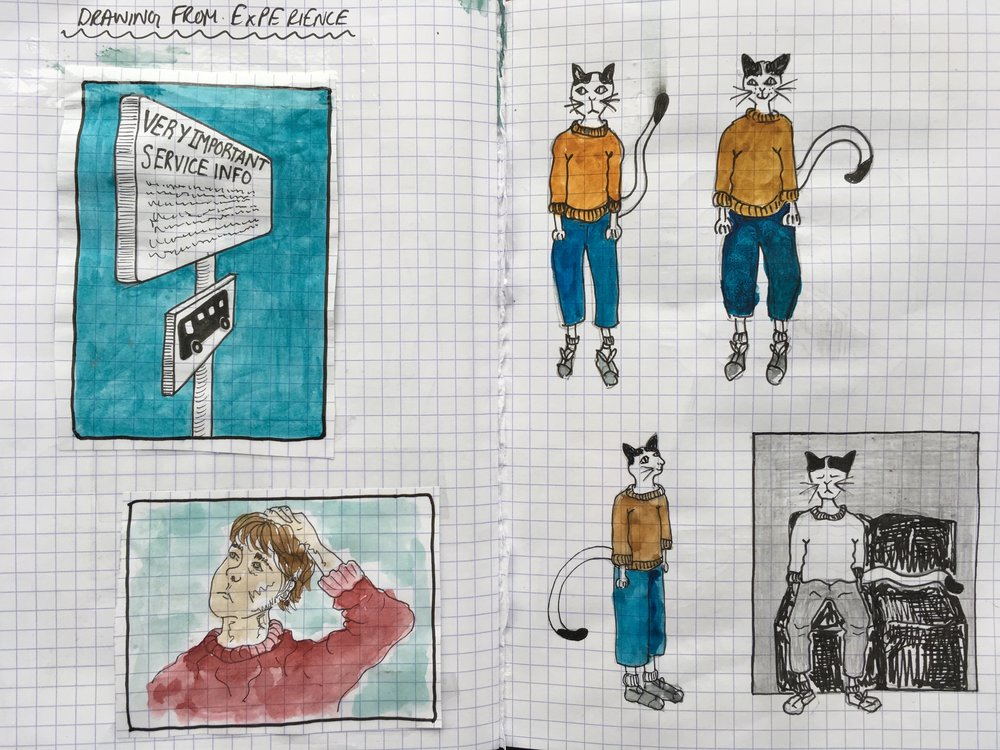 - Can we use comics to describe the experience of living and travelling with dementia?