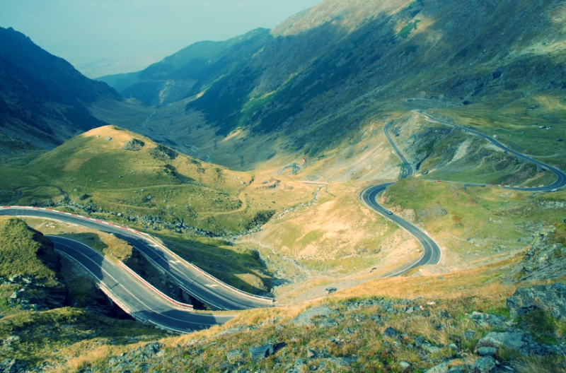 The Transfagarasan Road, Transylvania, Romania