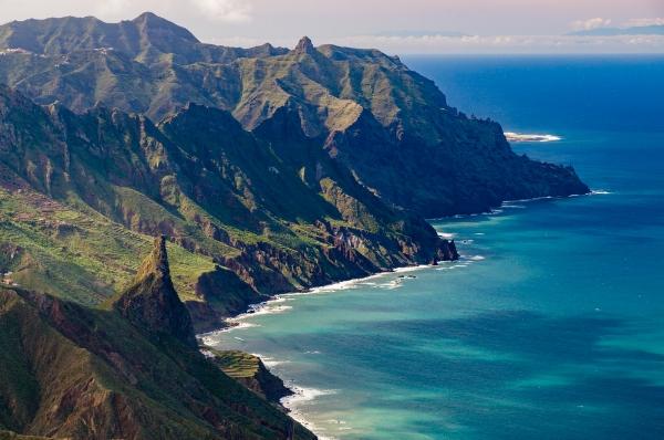 Tenerife Island.