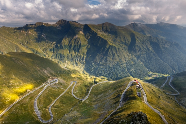 The Transfagarasan Highway - South Side. www.martin-adventures.com/road-cycling
