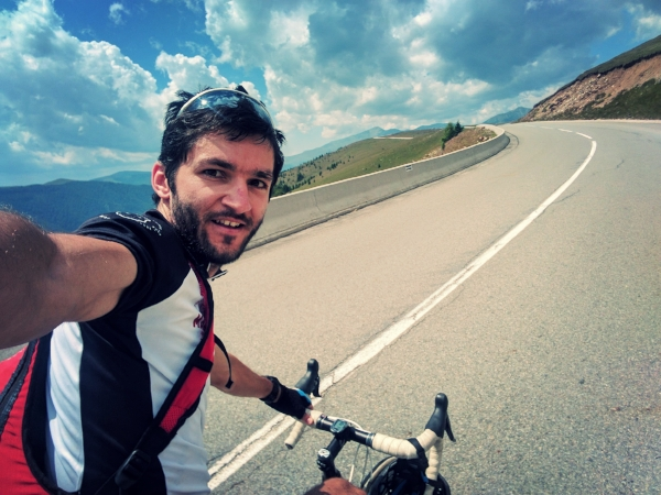 Andrei Tale - Main cycling guide for RomaniaAndrei has been part of the Martin team since the start and has become a dear friend of ours. Cycling is not a sport for Andrei but a way to get out and explore the world. He enjoys taking long bike trips, packing light and sleeping in the most
