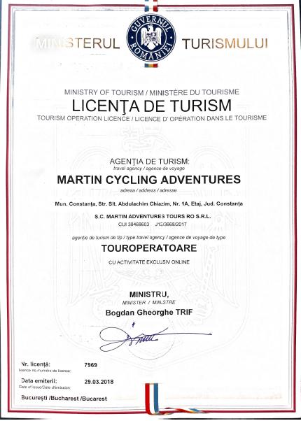 tourism license