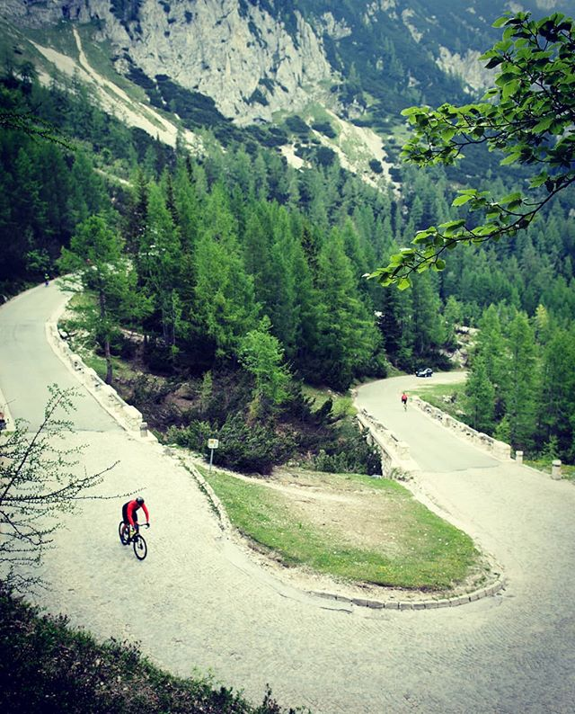 The Vrsic Climb in Slovenia is one of my favorite climbs in the Balkans. Short and steep, with some cobbled sections, this is a technical bit of road. You can experience it in our Slovenia Epic tour. Check the link in our bio for 2019 dates. . . . . . . #slovenia #croatia #romania #cycling #roadcycling #roadporn #martinadventures #balkans #adventure #roadbike #cyclist #bikestagram #cyclinglife #stravacycling #instacycling #rideyourbike #ilovemybike #cyclists #lovecycling #instacycle #cyclinglove #instabicycle #cyclistlife