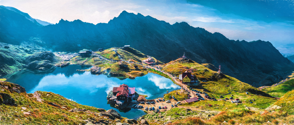 Balea Lake, Transfagarasan. © Martin Cycling Adventures