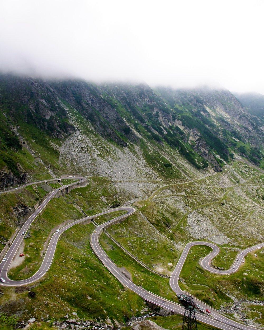 Cycling the Transfagarasan Highway. Copyright Martin Cycling Adventures.