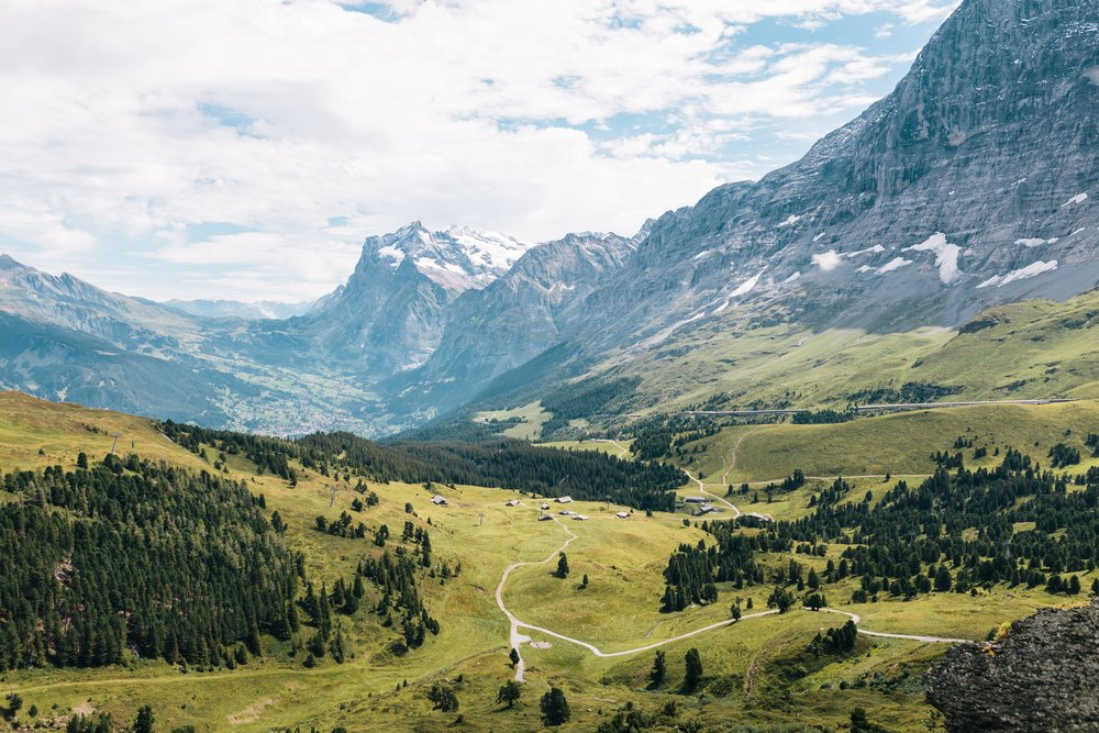 The Alps. Yes, they are amazing.