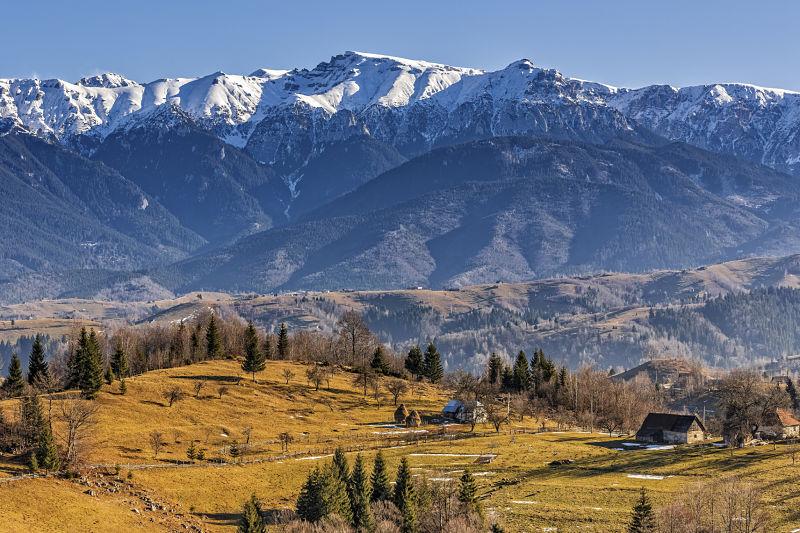 The Carpathians. Not too bad ;)