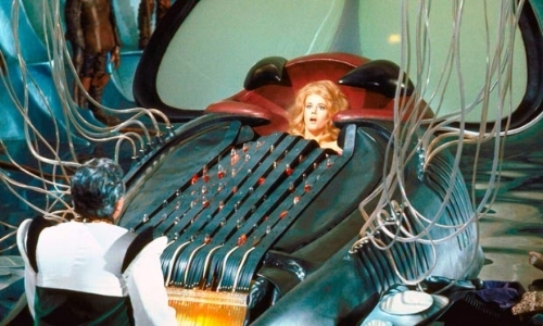 L'orgue à mourir de plaisir du film Barbarella: à chaque note, un orgasme.