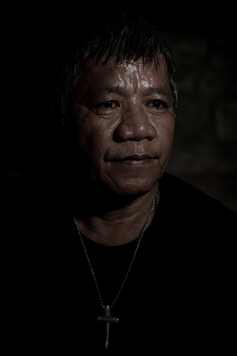 Edgar Matobato , self-confessed hitman and member of the Davao Death Squad