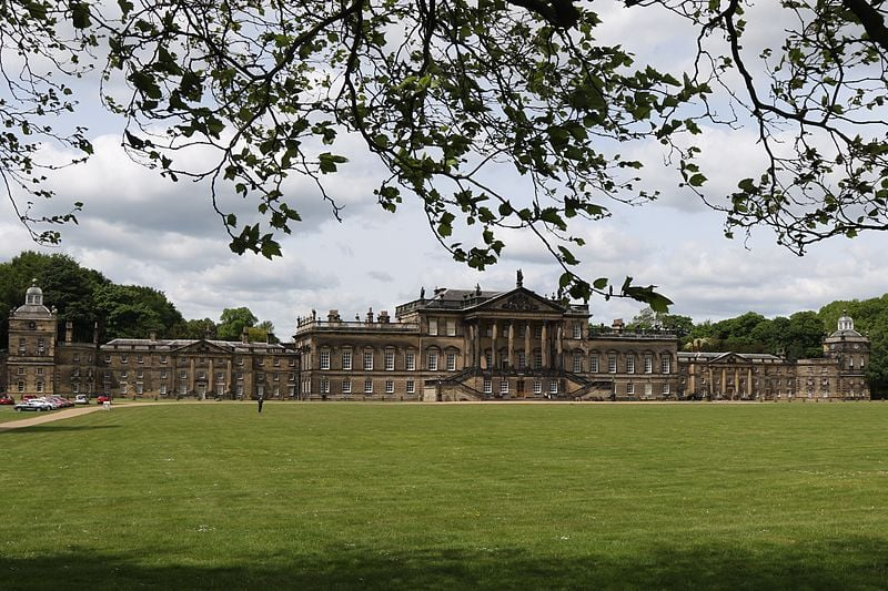 East front of the Wentworth Woodhouse, taken May 2015 (Wikipedia)