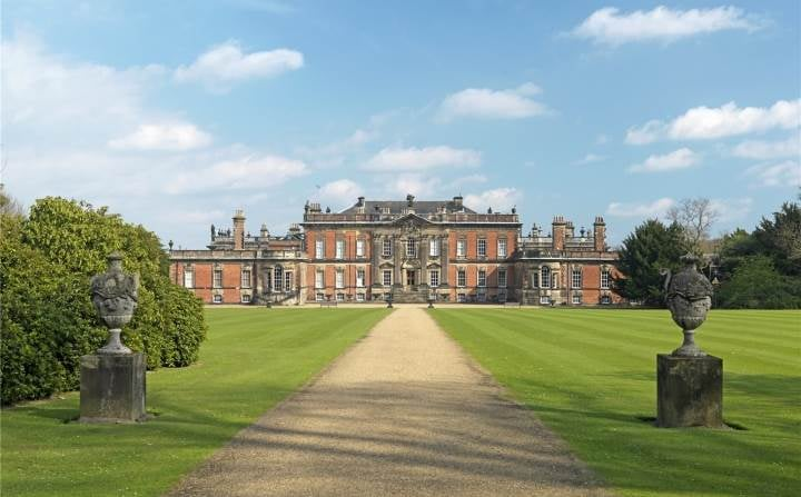 West front of the Wentworth Woodhouse (Savills)