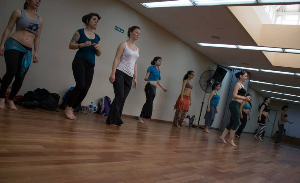 Natalie Teaching Workshops in Buenos Aires, Argentina 2013