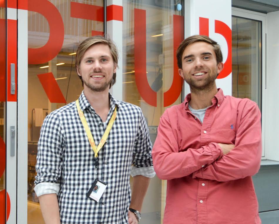 Axel Franck Næss &Eirik Rime, founders of Tise