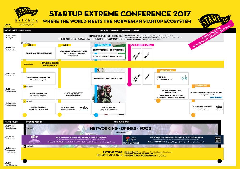 Conference program - click for fullscreen.