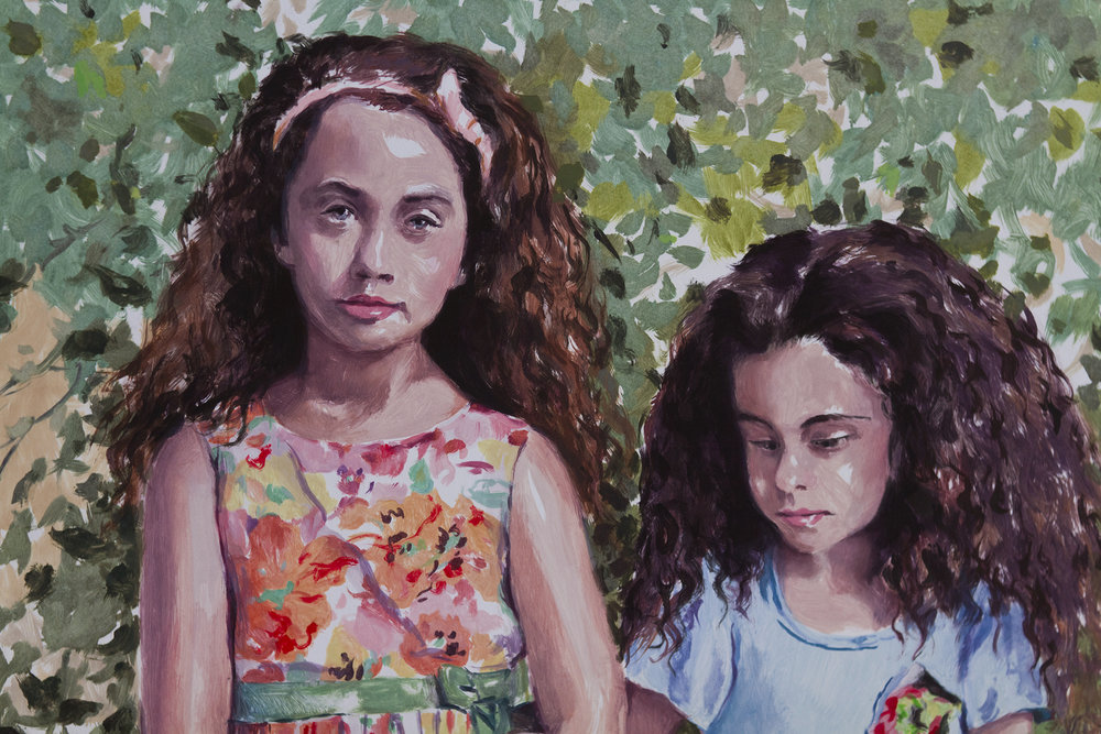 Siblings III (detail)