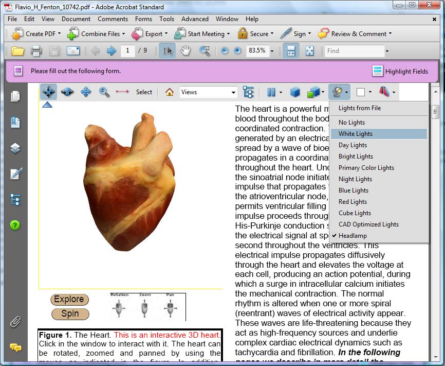 3D PDF Example