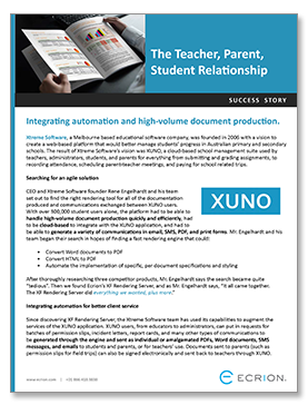 Learn more about XUNO and the ways it can enhance the academic experience for students and their parents, as well as educators and administrators.