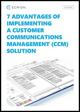 CCM-advantages
