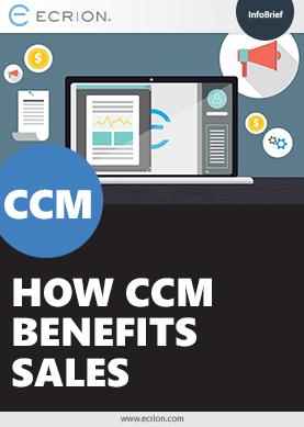how ccm benefits sales