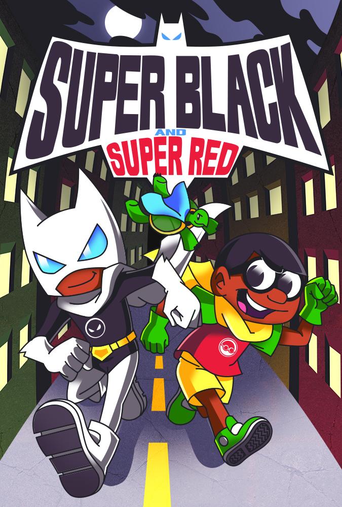 Super Black and Super Red
