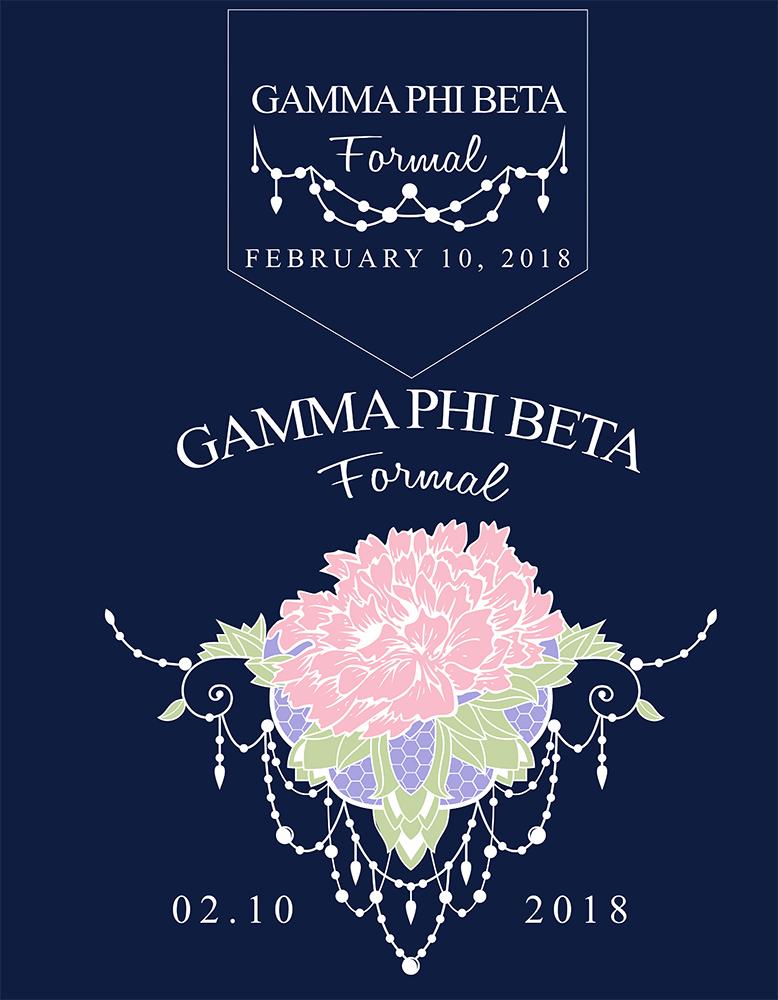 Gamma Phi Beta Formal