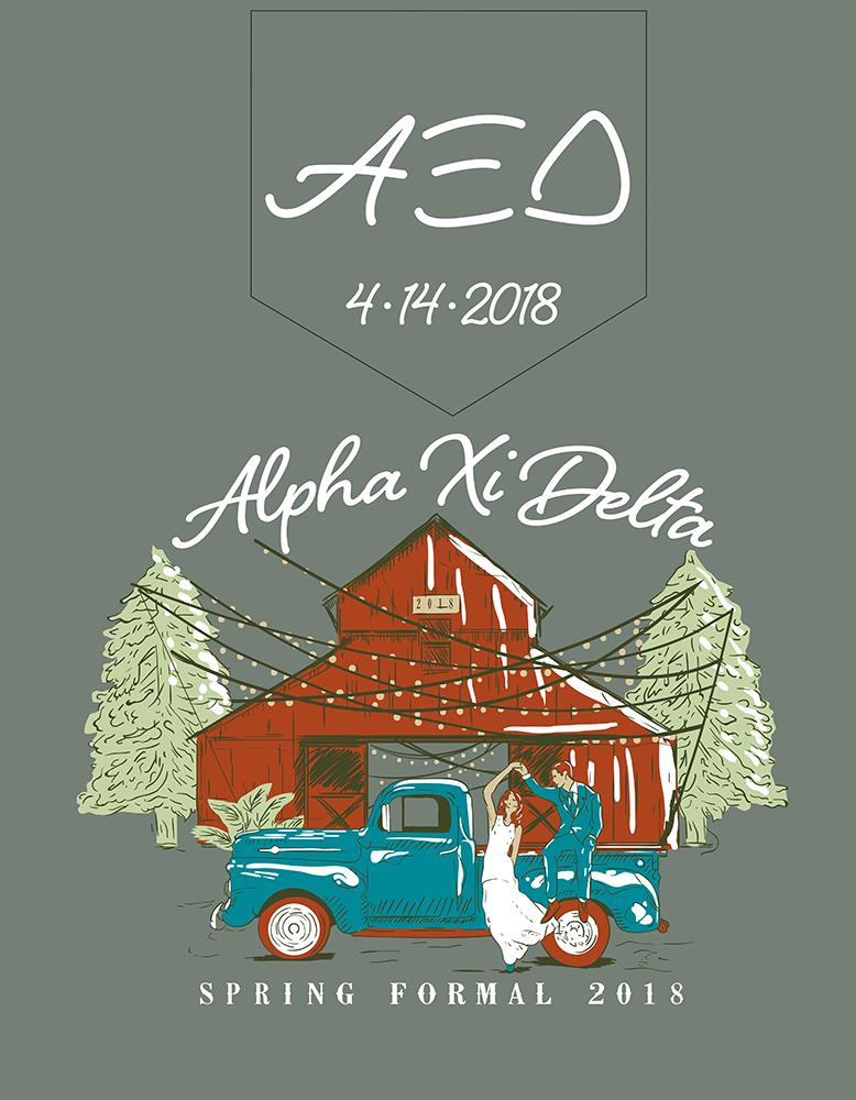 Alpha Xi Delta Formal