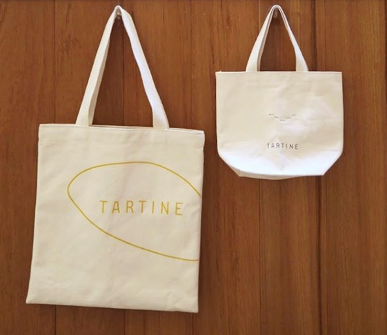 Tartine Bakery Tote Bags Brand Identity Design Sandy Ley