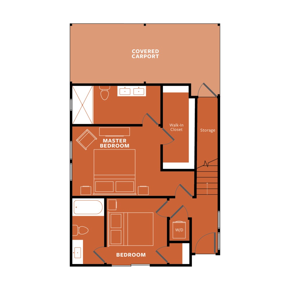 ORANGE: Ground Floor
