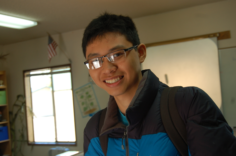 An Thai, exchange student from Vietnam