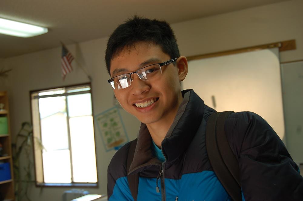 An Thai, exchange student from Vietnam
