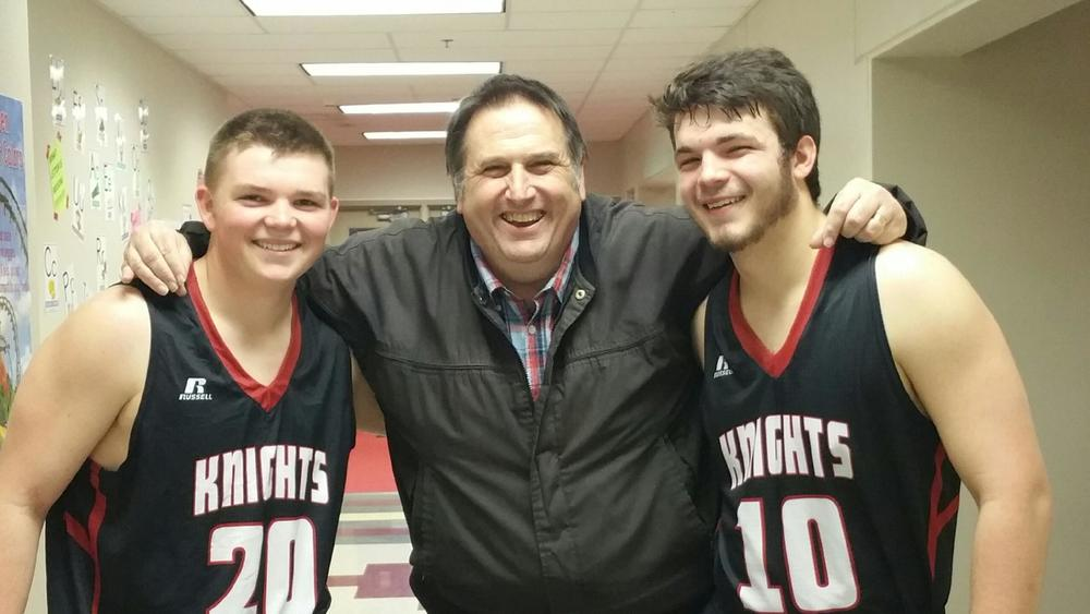 On the Road with Boys' Basketball