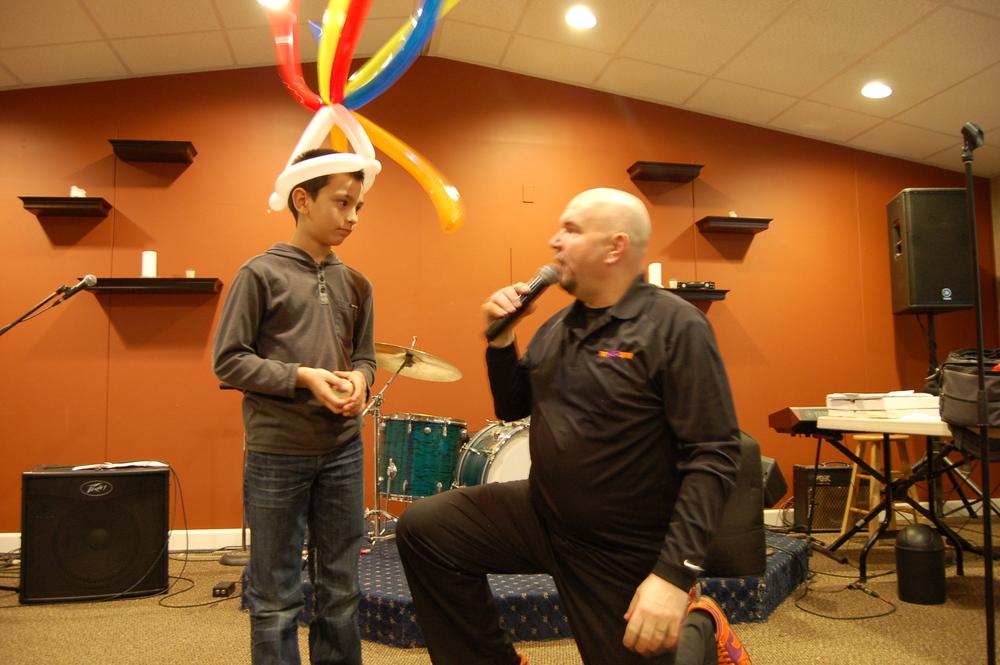 NED the  yo-yo guy comes to ACS